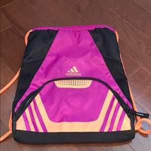 Adidas string backpack - perfect for summer!